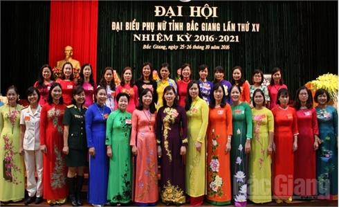 Đại hội đại biểu Phụ nữ tỉnh Bắc Giang lần thứ XV, nhiệm kỳ 2016-2021 thành công tốt đẹp