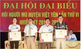 Đại hội đại biểu Hội người mù huyện Việt Yên lần thứ VI