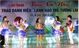 Liên hoan 'Vườn âm nhạc' cấp tỉnh: Trường THCS Dĩnh Kế giành giải Nhất