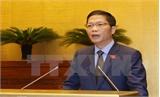 Trình ba dự án luật tại kỳ họp thứ 2, Quốc hội khóa XIV