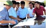 Phó Chủ tịch UBND tỉnh Dương Văn Thái kiểm tra tại  CCN  Đồng Đình (Tân Yên)
