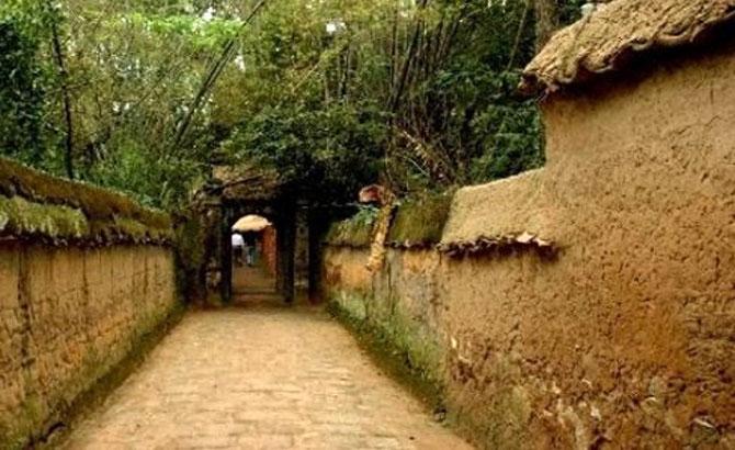 Buddhist woodblock, repository on Phuong Hoang mountain