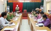 Kiểm tra công tác phòng chống tội phạm tại Việt Yên