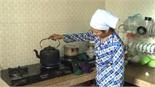 Chị Nguyễn Thị Vinh (xã Song Khê) có thêm nhiều nguồn thu từ hầm khí biogas