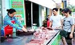 Tân Yên: Mở điểm bán thịt lợn sạch