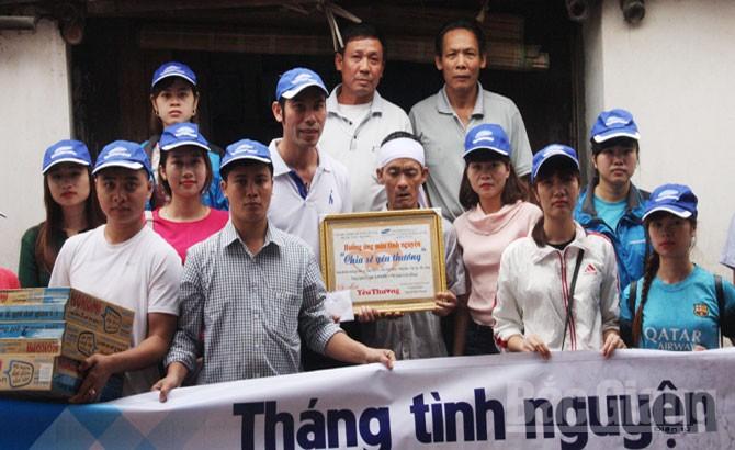 Nhiều tập thể, cá nhân giúp đỡ gia đình ông Trần Văn Ước