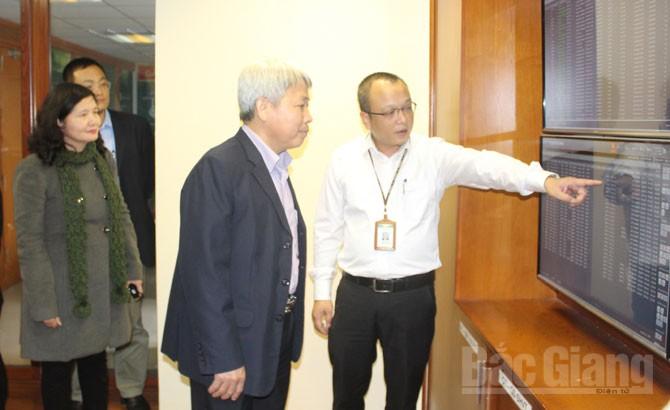 Thường trực HĐND, tỉnh Bắc Giang, giám sát,  doanh nghiệp, viễn thông