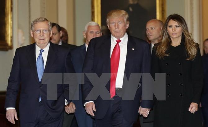 Trách nhiệm, hàn gắn, nước Mỹ, Tổng thống, đắc cử ,Donald Trump