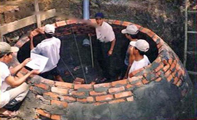 Điều kiện, xây hầm khí biogas, vị trí