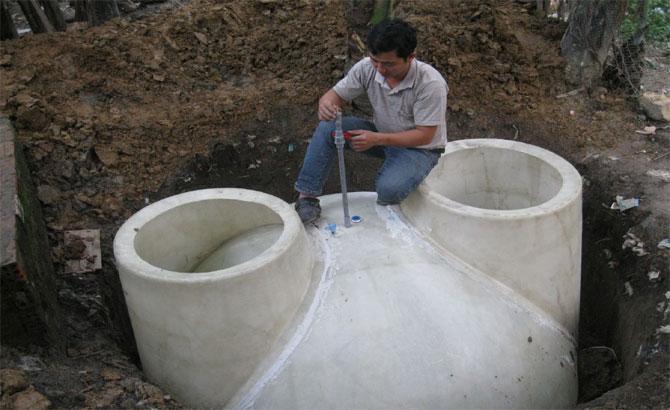 Cách bảo dưỡng, hầm khí biogas Composite, hiệu quả
