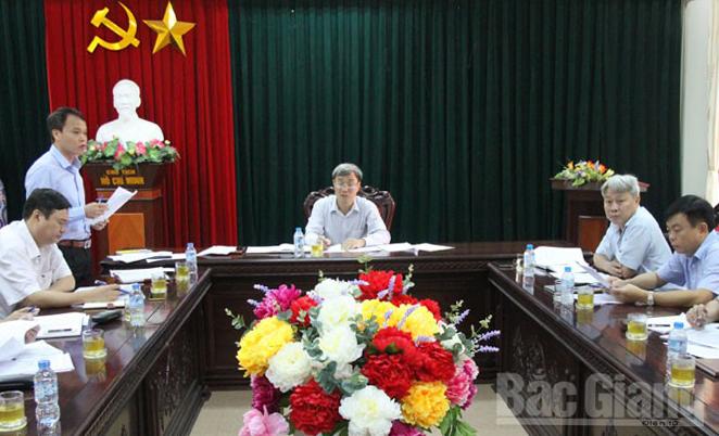 Thẩm tra, dự thảo, báo cáo, trình kỳ họp thứ 2, HĐND tỉnh Bắc Giang