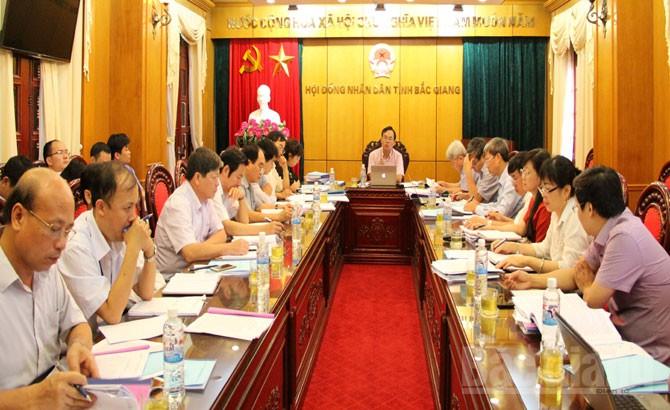 Thẩm định, nội dung,  Ban Thường vụ Tỉnh ủy, kỳ họp thứ 2, HĐND tỉnh
