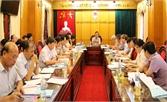 Thẩm định các nội dung trình Ban Thường vụ Tỉnh ủy và kỳ họp thứ 2, HĐND tỉnh Bắc Giang