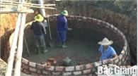 Phong trào xây dựng hầm khí biogas ở Hiệp Hòa phát triển mạnh