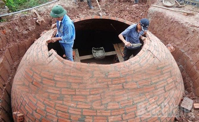 Năm 2017, dự kiến, hỗ trợ, xây dựng, 3000 hầm khí biogas
