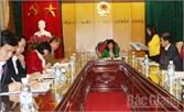 Thẩm tra tờ trình, dự thảo Nghị quyết trình kỳ họp thứ hai HĐND tỉnh
