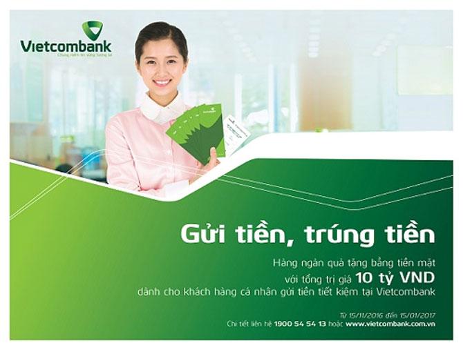 Chương trình, GỬI TIỀN TRÚNG TIỀN, Vietcombank