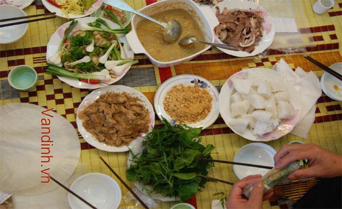 Bac Giang Mixture of Doctor Fish and Rice Pancake