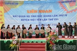Việt Yên: Bảo tồn, phát huy dân ca quan họ