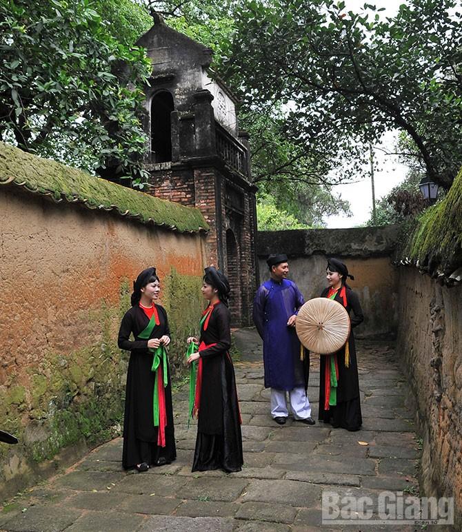 Việt Yên, bảo tồn, phát huy, dân ca quan họ