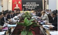 Tỉnh ủy Bắc Giang: Thông qua nhiệm vụ, giải pháp phát triển KT-XH năm 2017