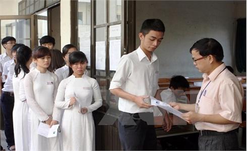 Bộ GD-ĐT công bố dự thảo Quy chế thi THPT quốc gia