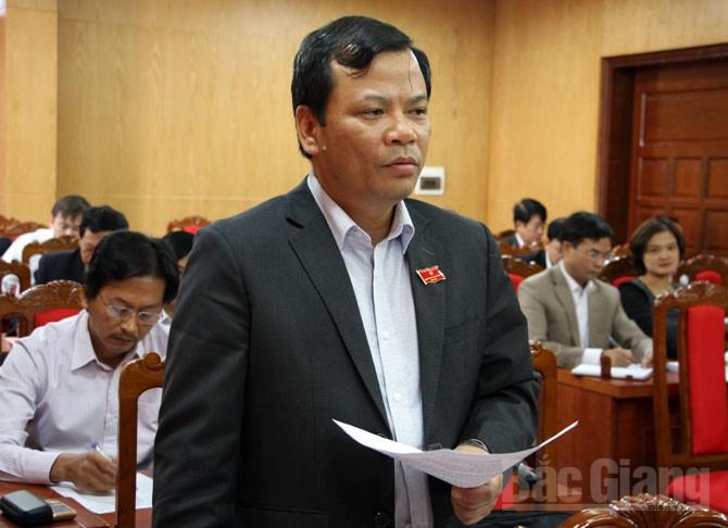 Kỳ họp thứ hai, HĐND tỉnh Bắc Giang,khóa XVIII, thảo luận, sôi nổi, vấn đề, cử tri, quan tâm