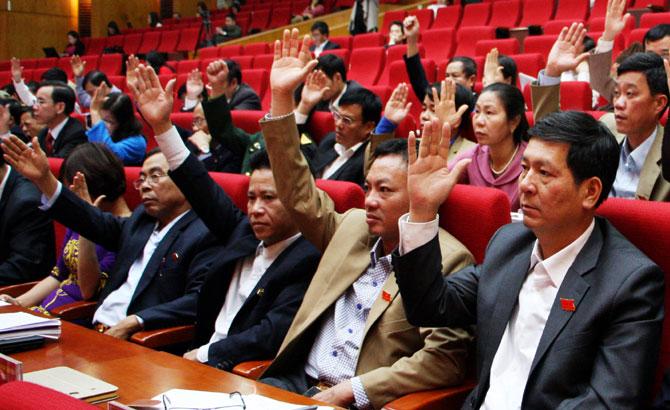 Bế mạc, kỳ họp thứ 2, HĐND, tỉnh Bắc Giang, thông qua, 28 nghị quyết