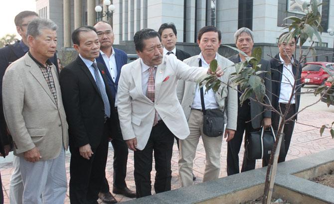 Hội Hữu nghị Việt Nhật vùng Chukyo sẽ trao tặng thêm cho tỉnh Bắc Giang khoảng 100 cây hoa đào và anh đào