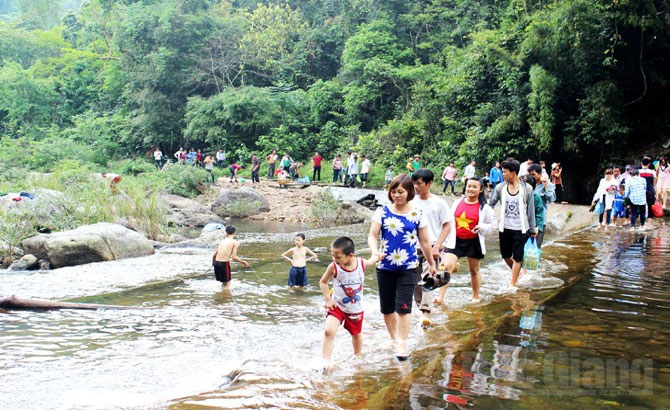 Bac Giang works for professional tourism