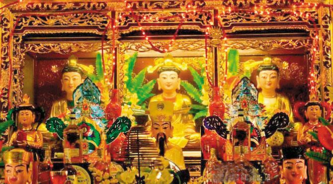 Tín ngưỡng, thờ Mẫu Tam phủ, Bắc Giang