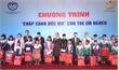 """Bắc Giang: Chương trình """"Chắp cánh ước mơ"""" tặng học bổng cho 100 học sinh nghèo"""