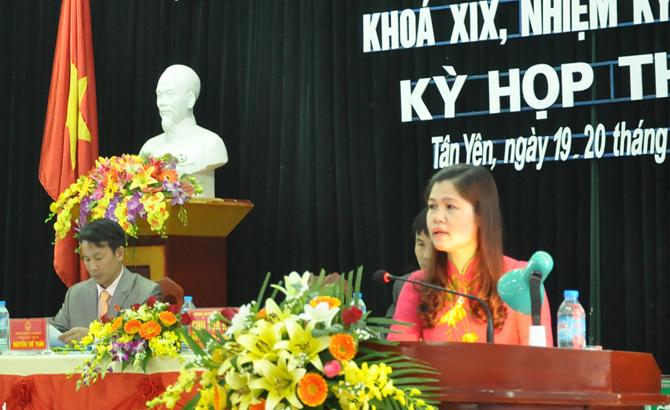 HĐND các huyện Lạng Giang, Tân Yên, tổ chức, kỳ họp, thứ ba