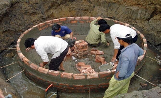 Xây dựng, hầm khí biogas, vì sao, hộ dân, chưa mặn mà