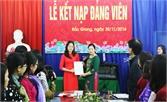 """Phát triển đảng viên ở Đảng bộ phường Trần Phú: Chú trọng cả """"lượng"""" và """"chất"""""""