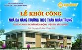 Việt Yên: Hơn 8 tỷ đồng xã hội hóa xây dựng trường, lớp học