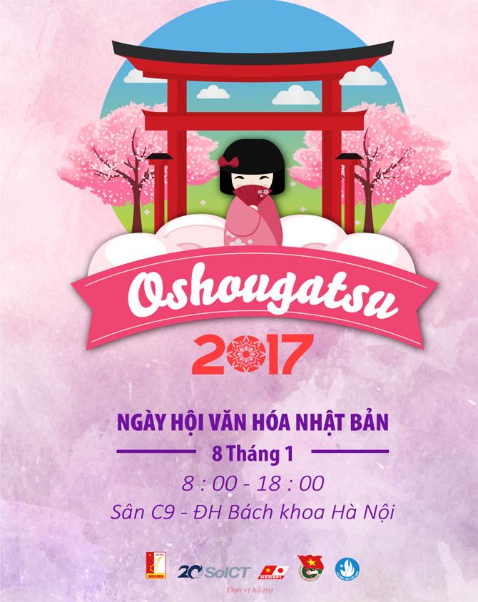 Ngày 8-1, sẽ khai mạc, Lễ hội, Văn hóa, Nhật Bản, Oshougatsu 2017,  Hà Nội