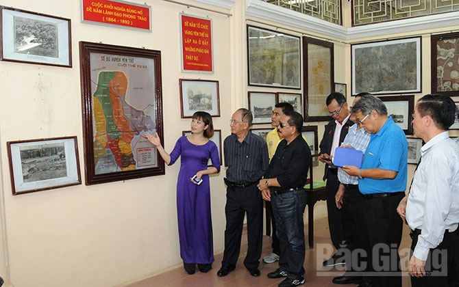 De Tham historical relic site, a draw in Yen The district