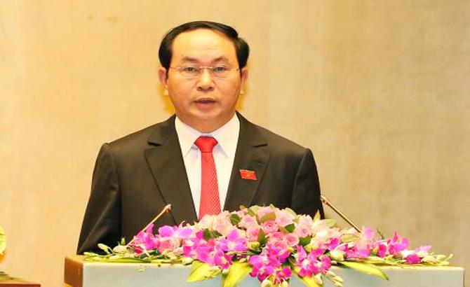 Chủ tịch nước, Trần Đại Quang, thông điệp, năm mới, hoàn thành, thành công