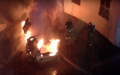 650 ôtô, bị đốt, đêm giao thừa, Pháp