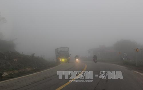 Bắc Bộ, buổi sáng, sương mù
