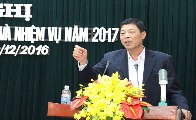 Bac Giang, Party chief, support for firms