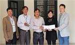 Công ty cổ phần May xuất khẩu Hà Phong: Tặng quà Tết 120 triệu đồng cho hộ nghèo huyện Hiệp Hòa
