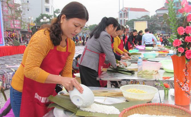 Ngày hội, Bánh chưng Vân, Tết sum vầy, hội thi trao quà, người nghèo