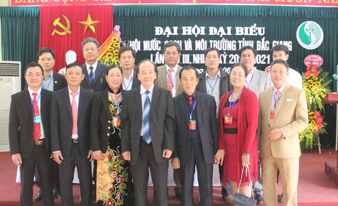 Đại hội, đại biểu, Hội Nước sạch và Môi trường, tỉnh lần thứ III, nhiệm kỳ 2016-2021