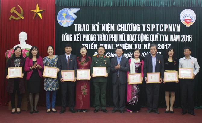 Hội Liên hiệp Phụ nữ, Bắc Giang, triển khai, nhiệm vụ, năm 2017