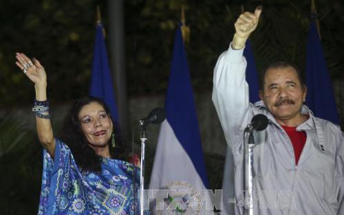 Tổng thống, Nicaragua, chính thức, nhậm chức, nhiệm kỳ thứ 4