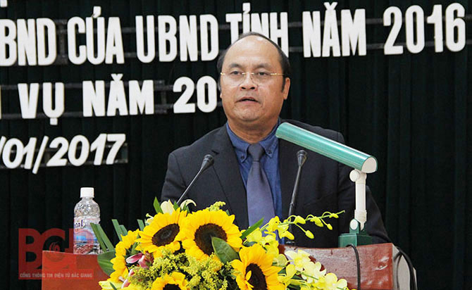 Bac Giang, People's Committee, administrative discipline, land clearance