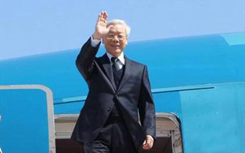 Tổng Bí thư, lên đường, chính thức, Cộng hòa Nhân dân Trung Hoa