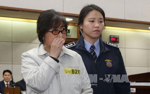 Bà Choi Soon-sil, thừa nhận, chỉnh sửa, phát biểu, Tổng thống